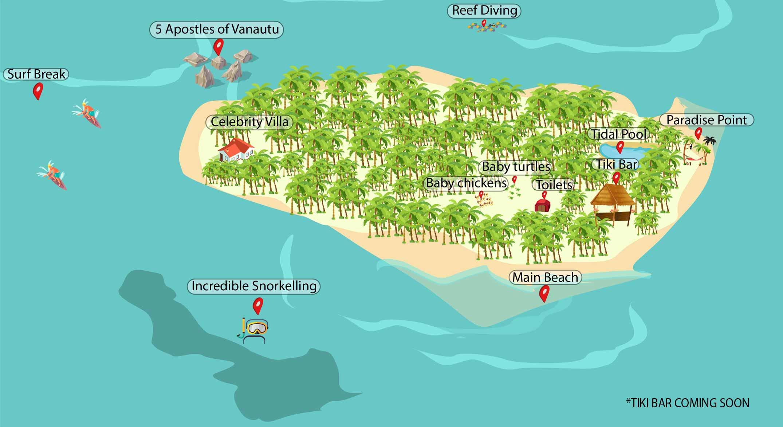 Dany Island Map