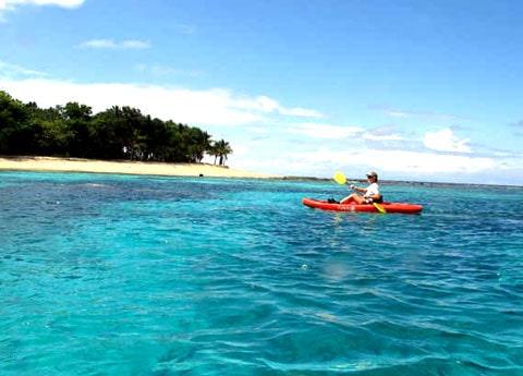 Kayak to Turtle Island